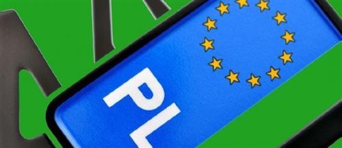 Zielone tablice rejestracyjne ?